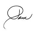 Pam Young signature